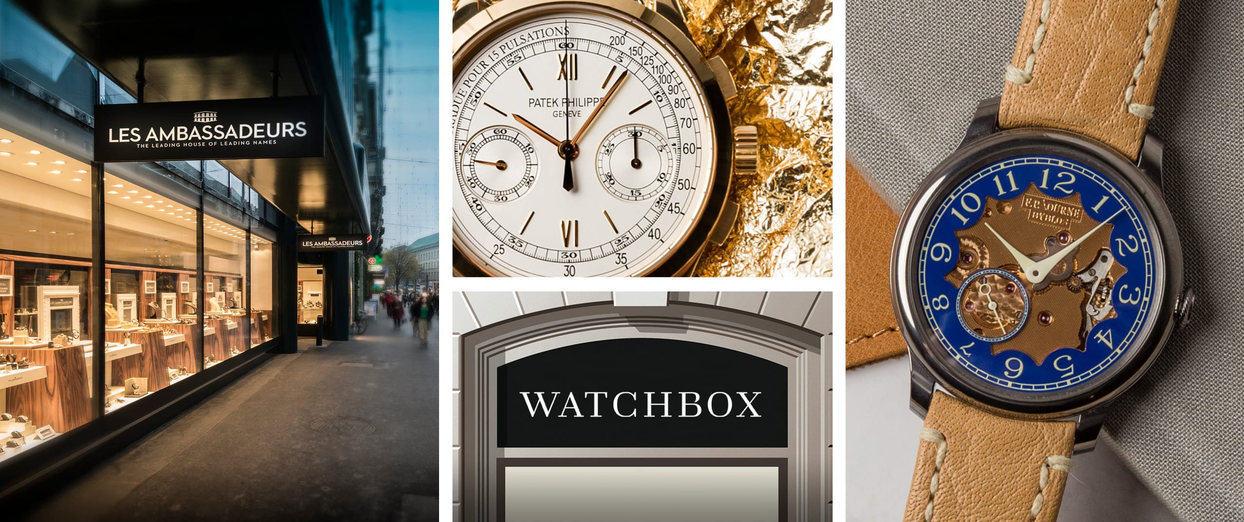 WatchBox Expands Global Footprint in Partnership with Leading Swiss Watch Retailer Les Ambassadeurs